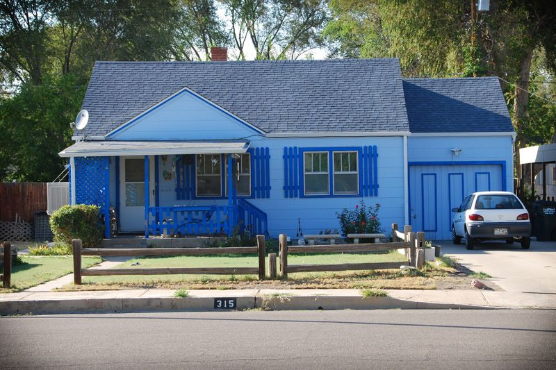 Blue Ranch House