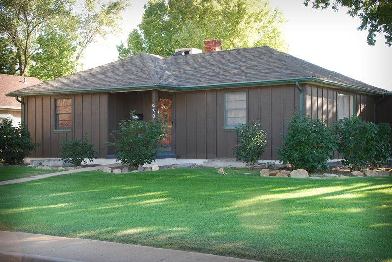 Brown Ranch House